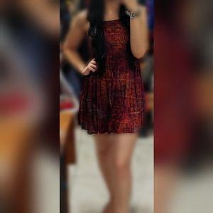 Lovely boho mini dress